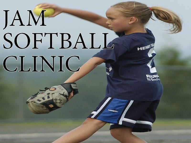 JAM Softball Clinic Picture