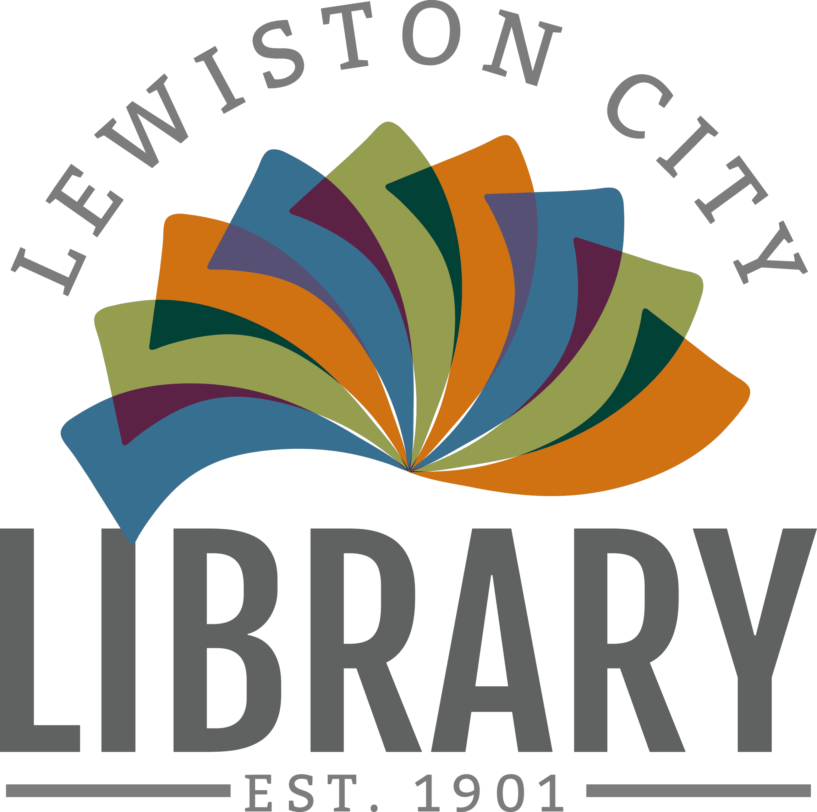 Lewiston City Library Logo