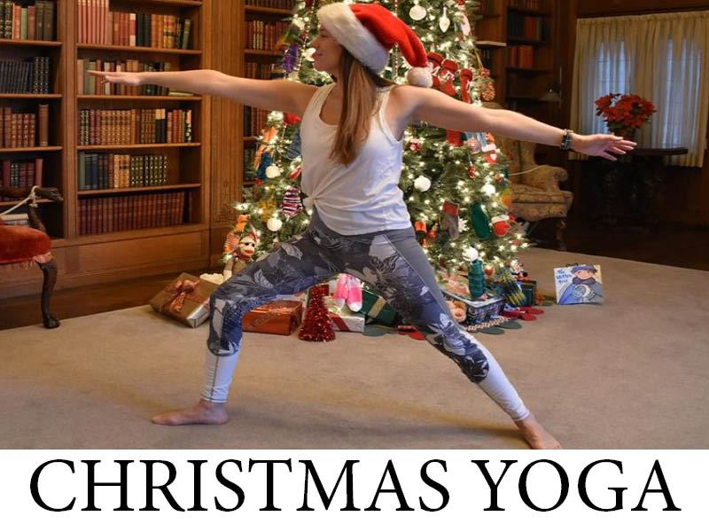 Christmas Yoga Picture