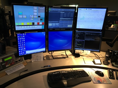 Computers at the Dispatch Center